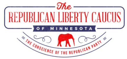 Repulican Liberty Caucus of Minnesota Retina Logo