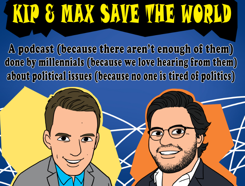 Kip & Max Save the World
